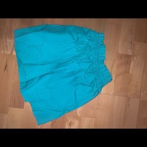 Jcrew skirt - teal